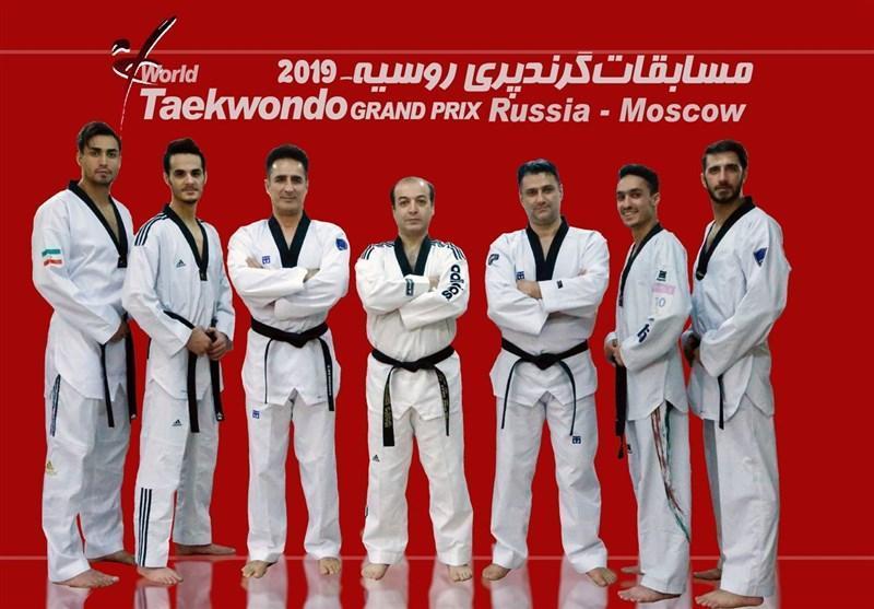 جمعه آغاز مبارزات 128 تکواندوکار از 42 کشور در فینال گرندپری مسکو، ایران با 4 نماینده در این رقابت ها