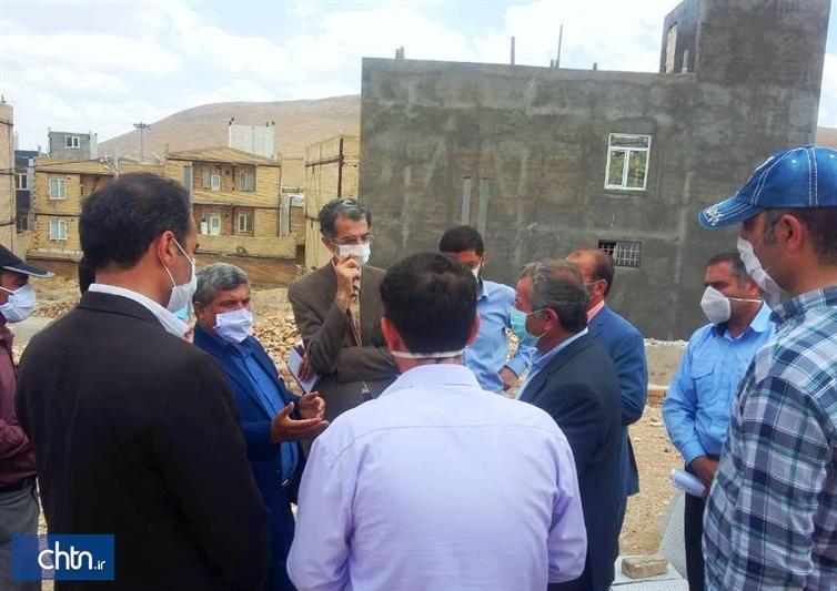 بازدید مسئولان استانی از فرایند عملیات اجرایی ساخت موزه فرش بیجار